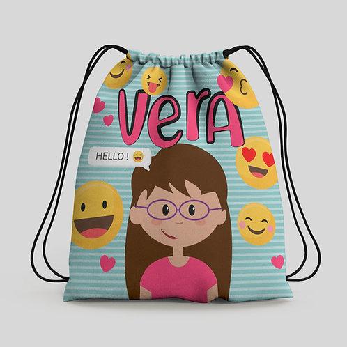 Mochila saco infantil Emojis