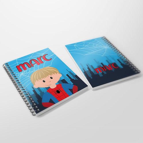 Cuaderno Spiderman
