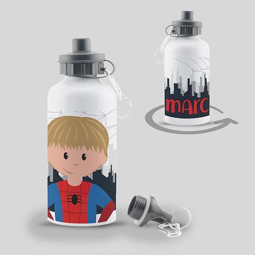 Botella Spiderman