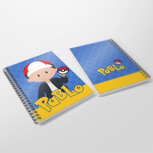 Cuaderno Pokemon
