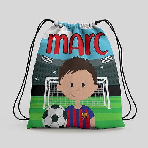 Mochila saco infantil Futbol