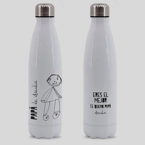 Botella Premium Papá Art Kids