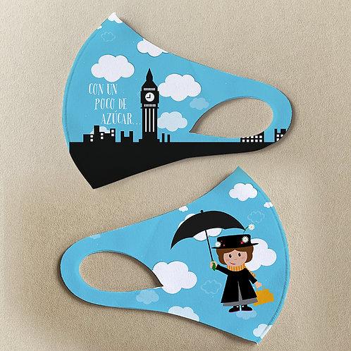 Mascarilla Mary Poppins