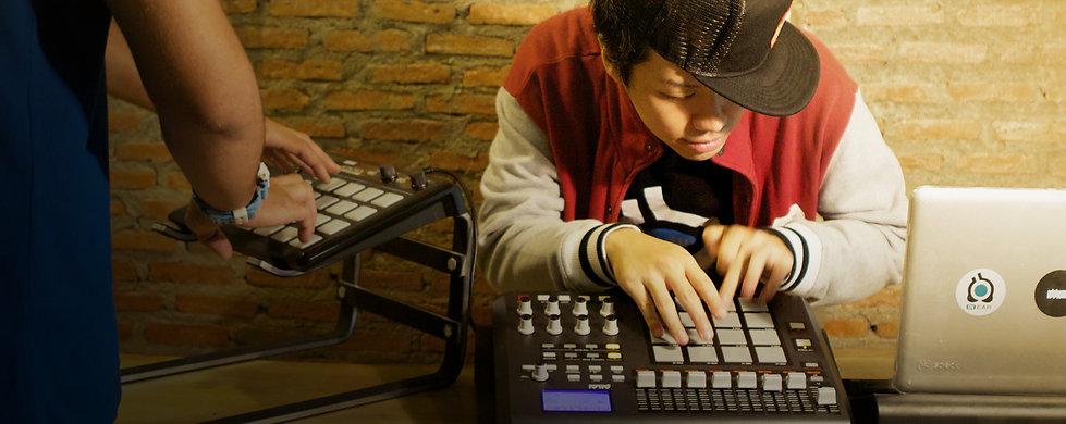 อินเอียบีทเปิดสอนหลักสูตร Drum Trigger สอนการสร้างจังหวะดนตรีด้วยปลายนิ้ว