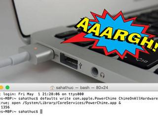 เรามาทำให้เครื่อง Macbook เรามีเสียงตอนเสียบสายชาร์ทเหมือนใน iPhone หรือ iPad กันดีกว่า !!