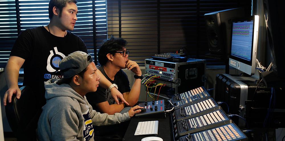การทำโปรดักชั่นของดนตรี | อินเอียบีท