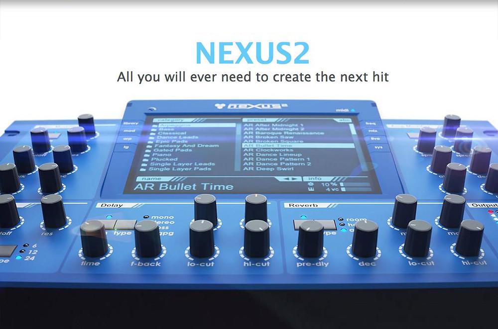 Nexus 2 ปลั๊กอินดีๆสำหรับนักทำเพลง | InEarBeat