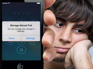 สุดยอด 5 วิธีขยายพื้นที่(Free Space)ในไอโฟน..แก้ปัญหาเมมเต็ม!!