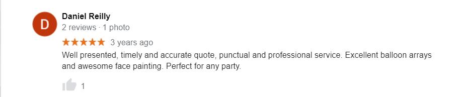 Fancy Pants Entertainment google review