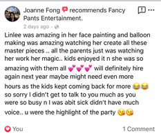 Face Painting Brisbane 0416955265 Review6