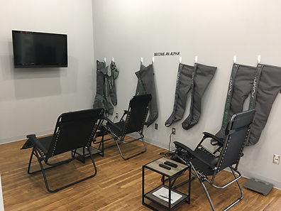Athlete Recovery Lounge