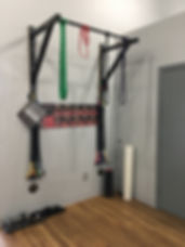 Pull-up br, moblity bands, foam roller, Crossover Symmetry