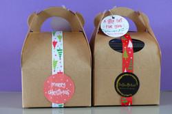 puredeadbrilliant homemade chocolate brownies gift box