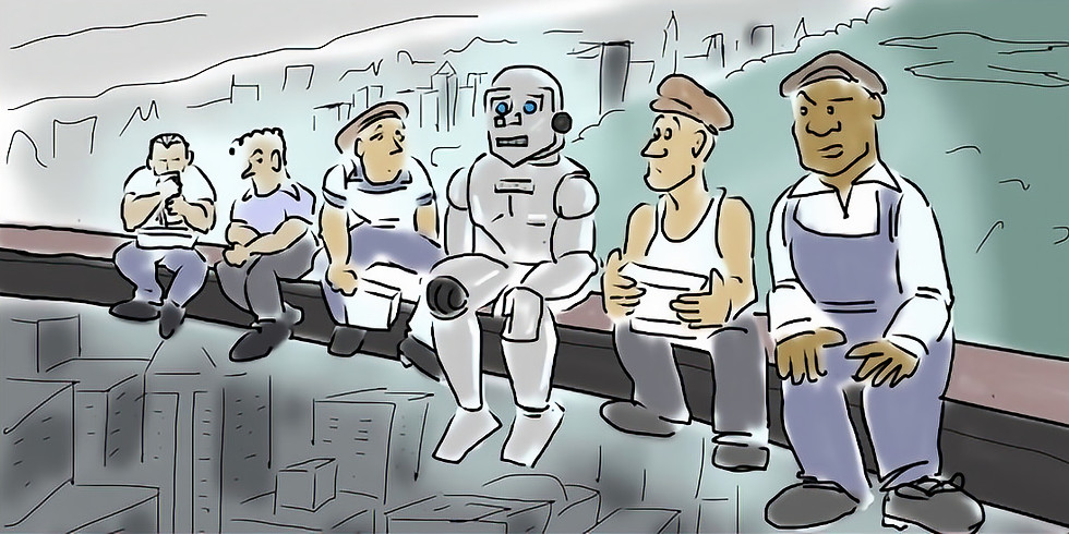 How to Keep Robots & Management From Taking our Jobs