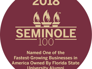Congratulations to some of our Corporate Members on making Seminole 100!