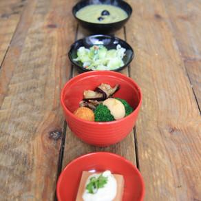 0ryoki à 5 bols d'été #menu complet