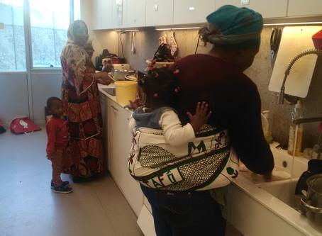 Cuisiner ensemble au centre Rosa Parks