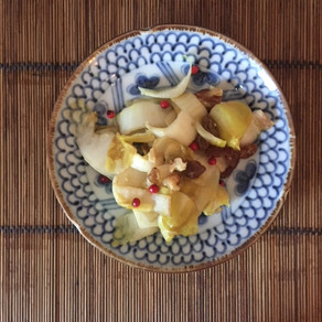 salade d'endives #acide #amer #cru #jaune # rouge