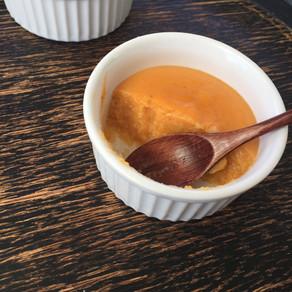 Crème d'abricots #dessert  #crème dessert  #acide #bouilli #fondant  #orange