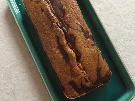 Marbré au Chocolat / chocolate marble cake