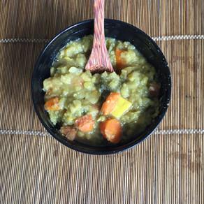 Potée  de pois cassés au carottes