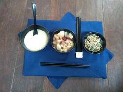 Oryoki petit déjeuner