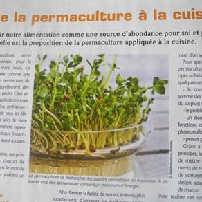 De la permaculture à la cuisine ( article bio contact mars 2015)