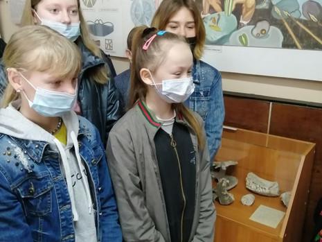 Учащиеся Гришевской СОШ посетили музей