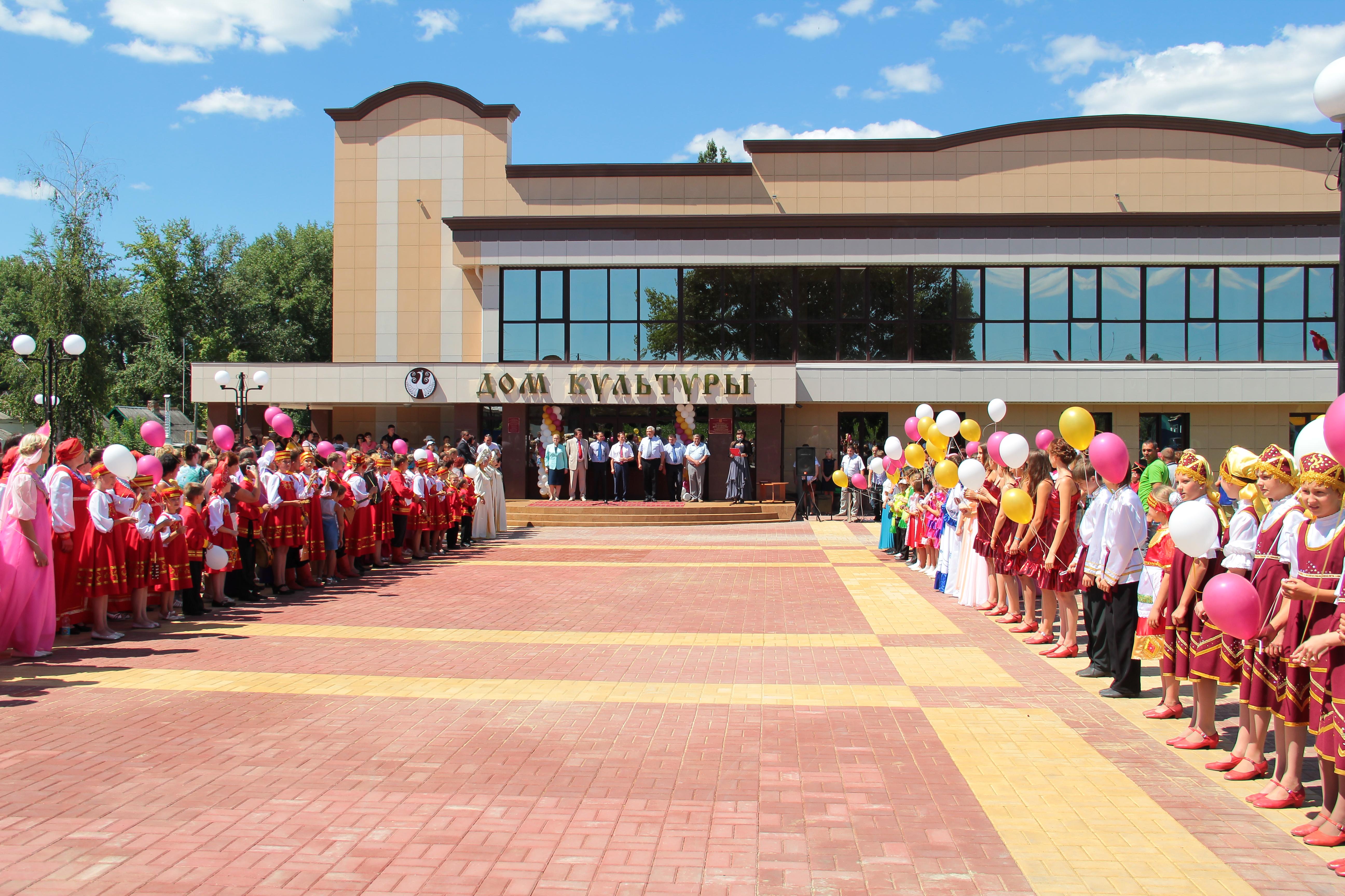 Открытие районного Дома культуры после реокнструкции, 19.07.2013 год.JPG