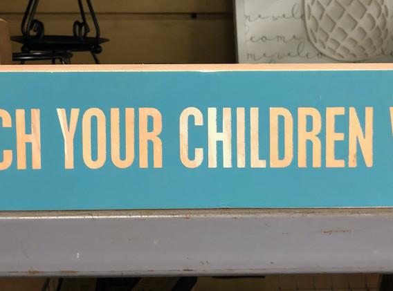 Box Sign $14