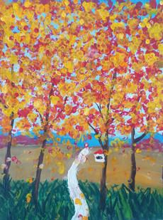 «Осень глазами юных художников»