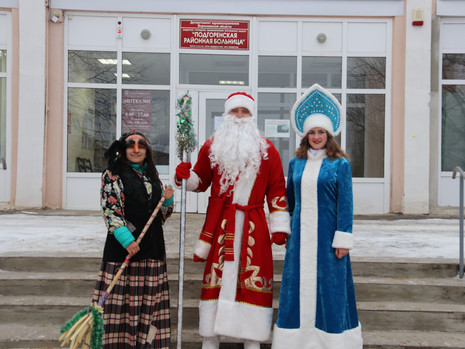 "Акция ""В гости Дед Мороз пришел"""