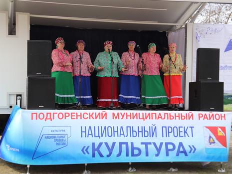 В Подгоренском районе продолжает реализацию национальный проект «Культура»