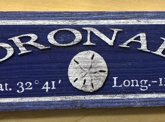 Coronado Sign - 2 sizes