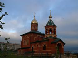 Строящийся храм Сергея радонежского в п.г.т подгоренский.JPG
