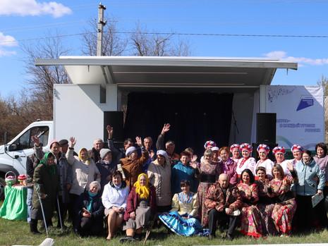 Автоклуб порадовал концертной программой жителей еще одного села Подгоренского района