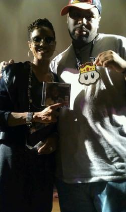 Jai Carey and MC LYTE