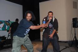 Jai Carey and DJ BHB