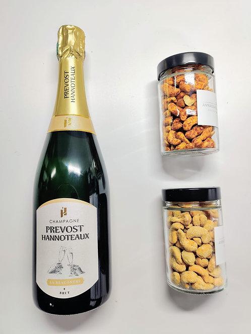 Apéro Visio - Champagne - Cajou