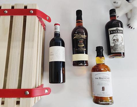 Petit Coffret Bois - Alcool