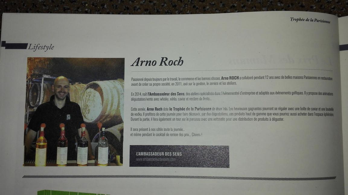 Arno Roch - Ambassadeur des Sens