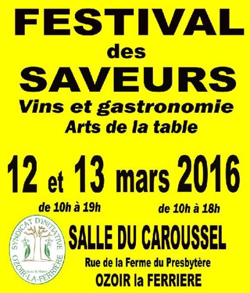 Festival des Saveurs Ozoir la Ferrière