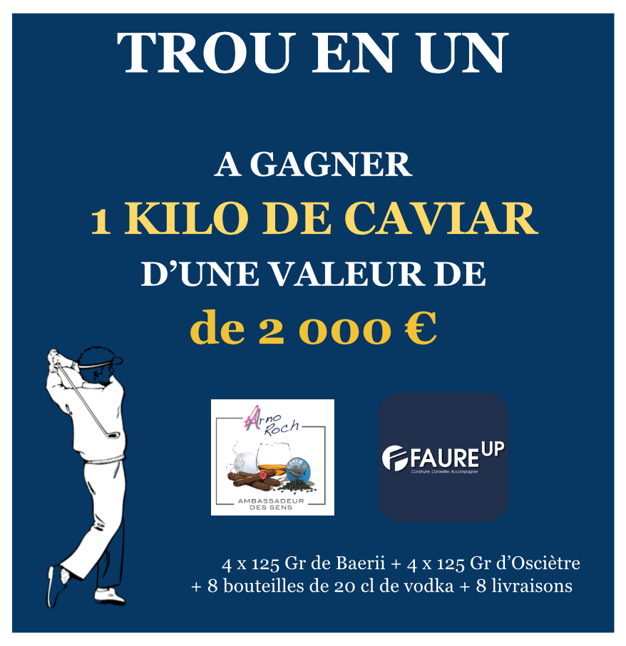 Trou en 1 / Hole in One  by Faure Up Tour & Arno Roch