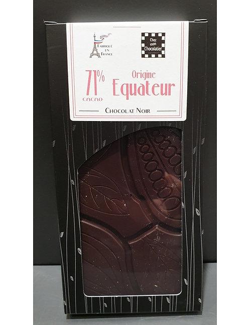 Tablette Noir  Origine Equateur