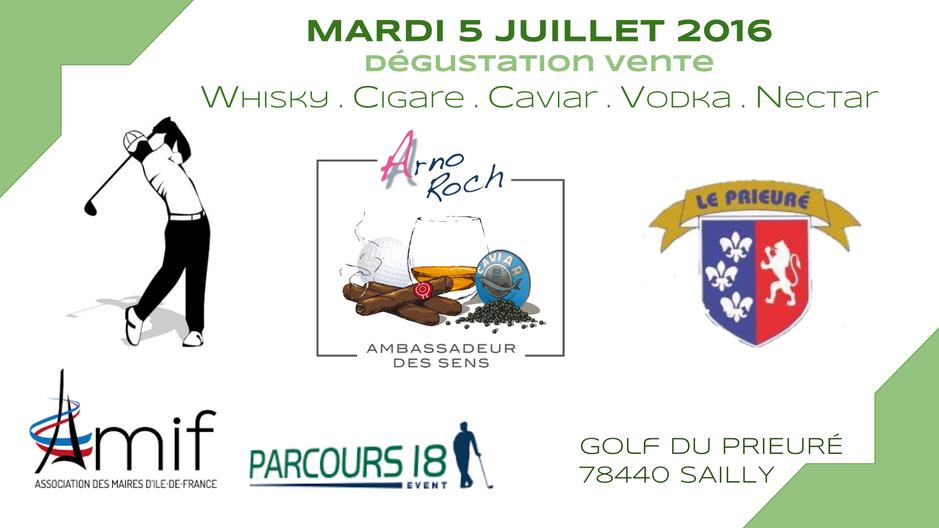 Golf du Prieuré - AMIF - Parcours 18 Event