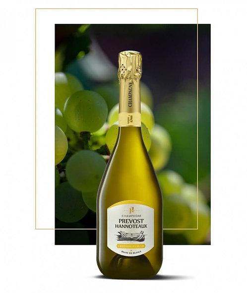 Champagne blanc de blancs l'Histoire d'une Vie | Prevost-Hannoteaux