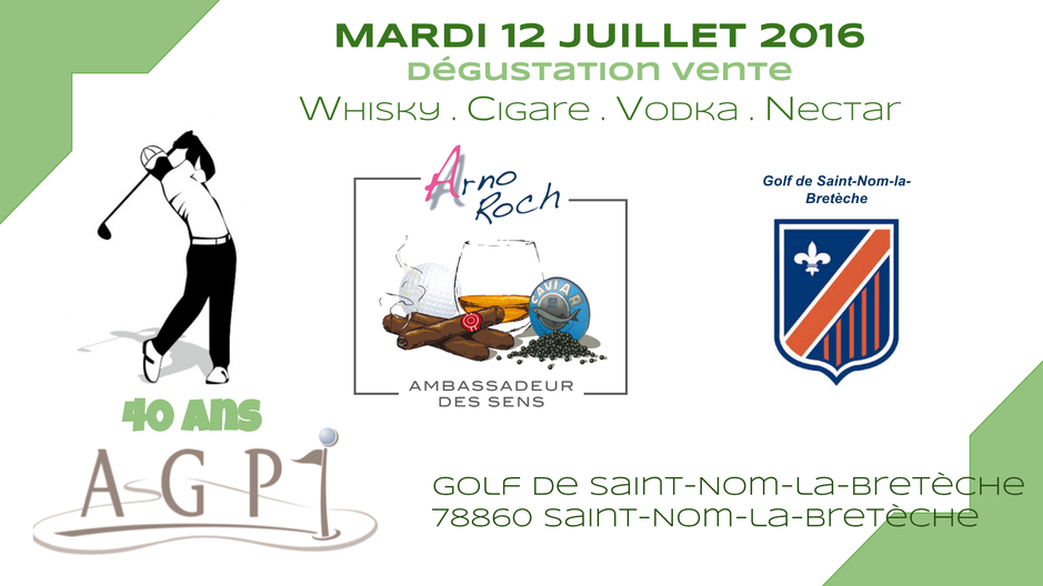 Golf de Saint-Nom-La-Bretèche - AGPI 40 ans