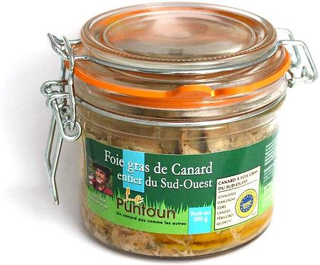 Foie Gras de Canard Entier du Sud Ouest IGP - La Ferme du Puntoun