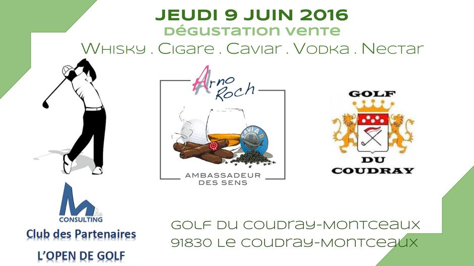 Golf du Coudray-Monceaux - CLUB DES PARTENAIRES - L'OPEN DE GOLF