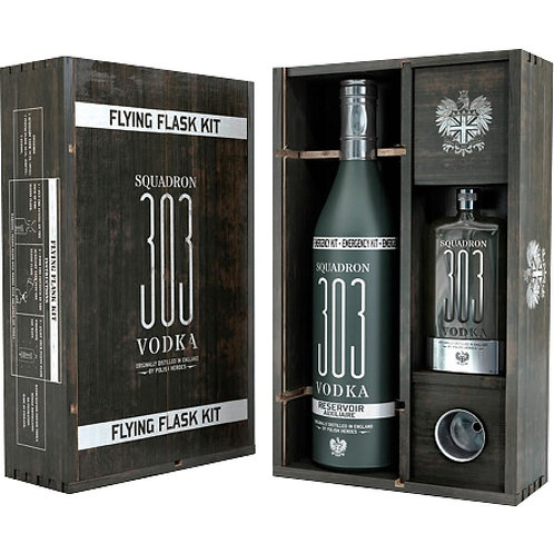 Vodka 303 |Coffret Flying Flask Kit